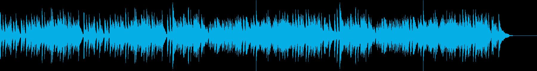 ガボット フランス組曲 バッハ ピアノの再生済みの波形