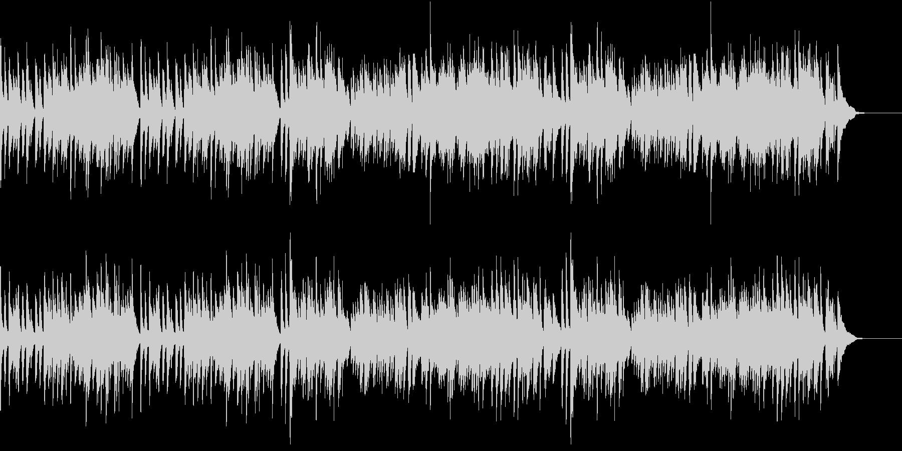 ガボット フランス組曲 バッハ ピアノの未再生の波形