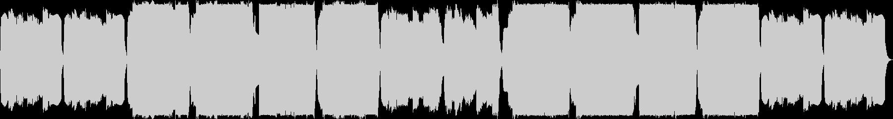 オカリナとリコーダーの切ない曲の未再生の波形