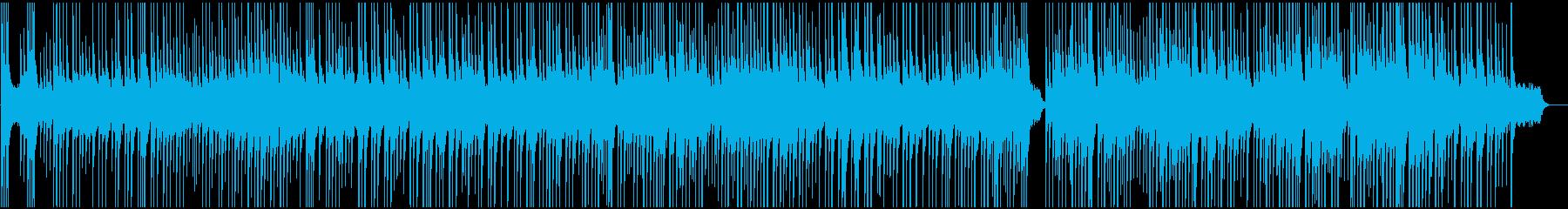 寂しげな別れを連想させるBGMの再生済みの波形