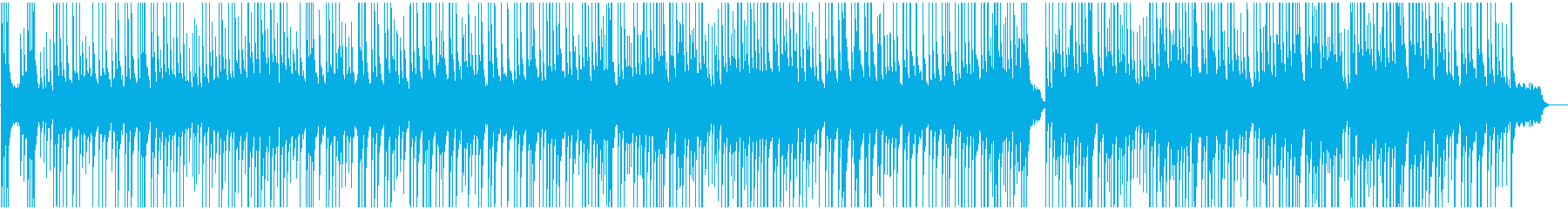 BGM reminiscent of a sad farewell's reproduced waveform