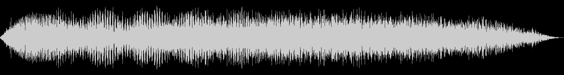 データ過負荷1の未再生の波形