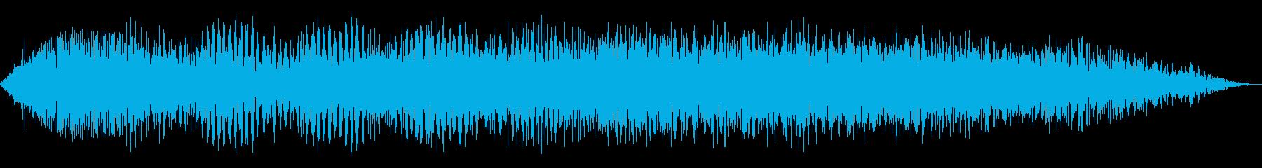 データ過負荷1の再生済みの波形