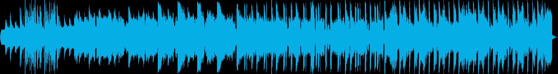 ほのぼのしたエレクトロの再生済みの波形