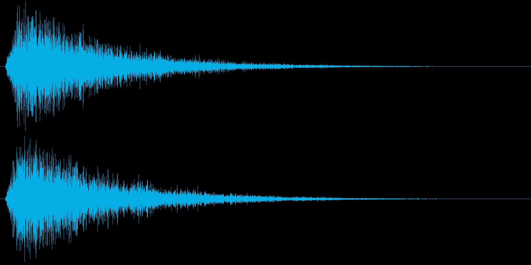 ジャンの再生済みの波形