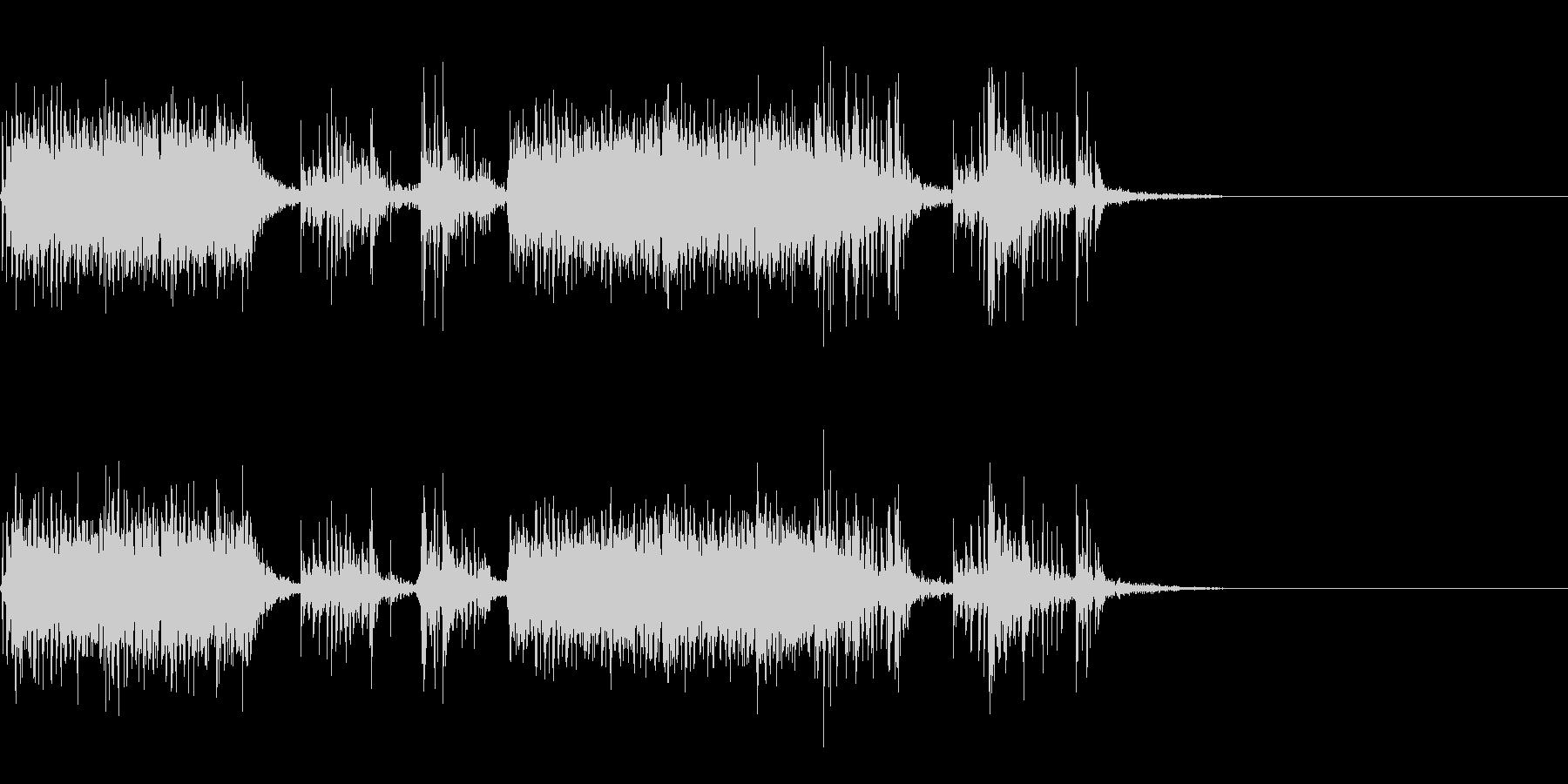 スパーク音-16の未再生の波形