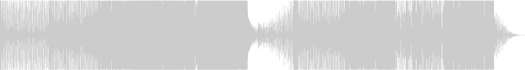 Cyberpunk ダークエレクトロの未再生の波形