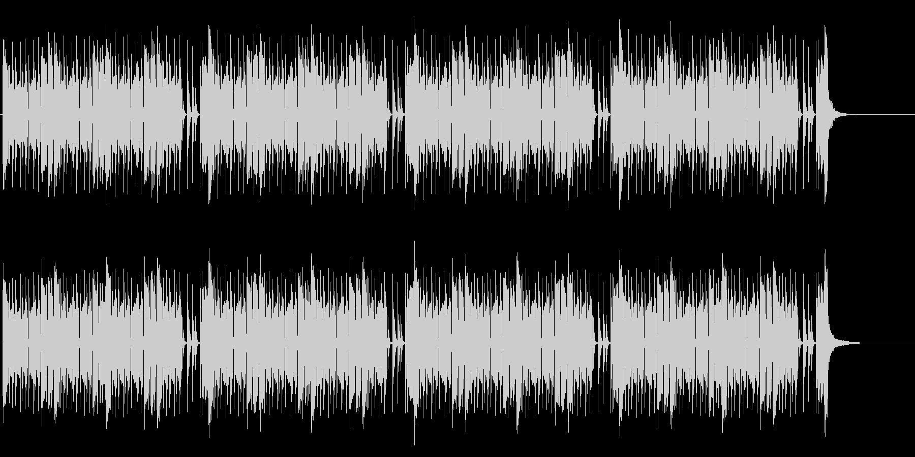 緊張感のあるEDM調バトル曲(メロ無しの未再生の波形