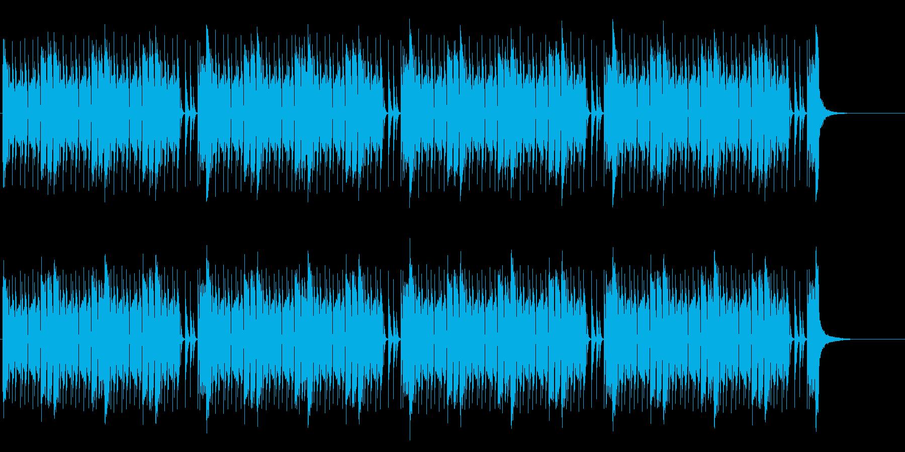 緊張感のあるEDM調バトル曲(メロ無しの再生済みの波形