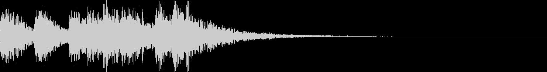 ショート ファンファーレ ベル ブラスCの未再生の波形