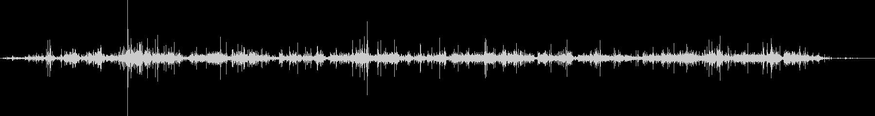 袋のガサガサ音02の未再生の波形
