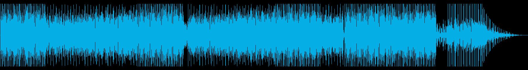 生トランペットの泥臭いファンクの再生済みの波形