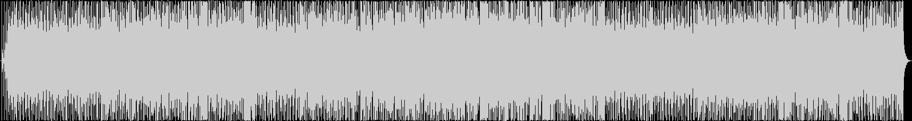 軽快なジャズピアノトリオ演奏の未再生の波形