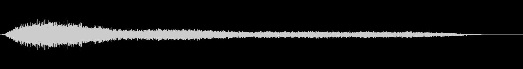 ドローンエリーシンバルパッドショート1の未再生の波形