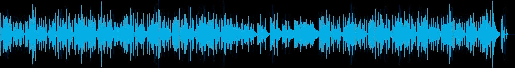 クッキング動画に♪ぽかぽかピアノBGMの再生済みの波形