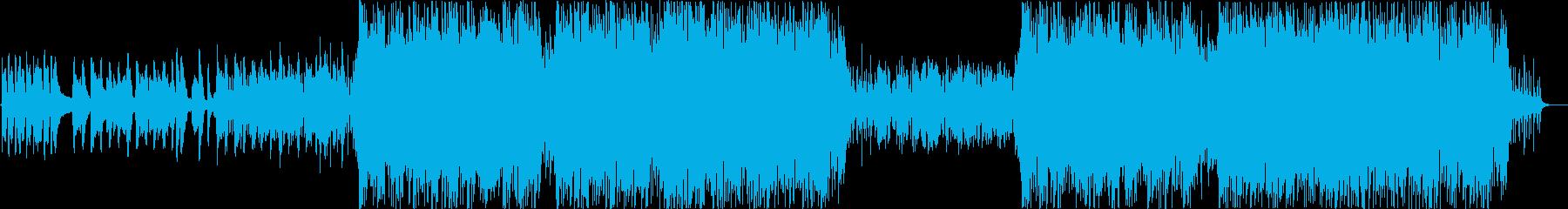 前向き感動系・王道ポップスバラードの再生済みの波形
